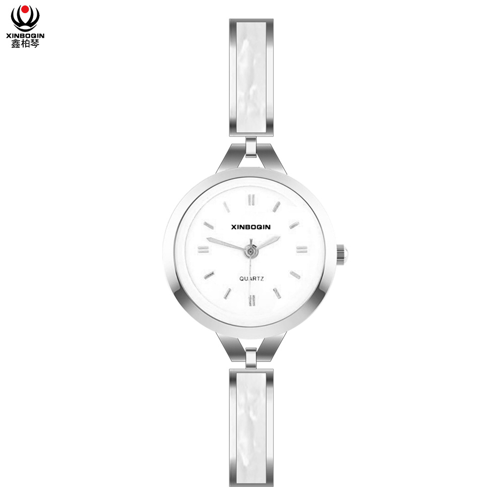XINBOQIN Factory New Style Fashion Colors Simple Design Japan Movement PC21 Quartz Acetate Lady Watch