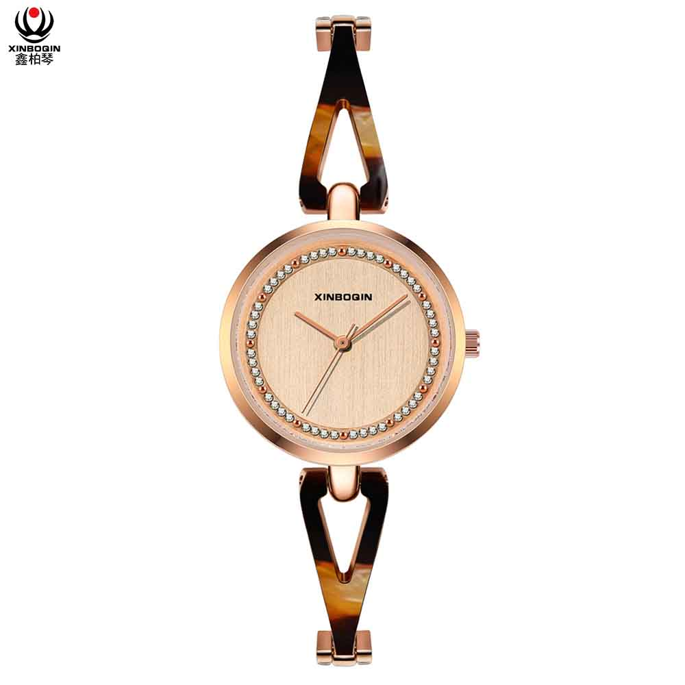XINBOQIN Supplier Hot Selling Original Brand Fashion Quartz Acetate Lady Watch