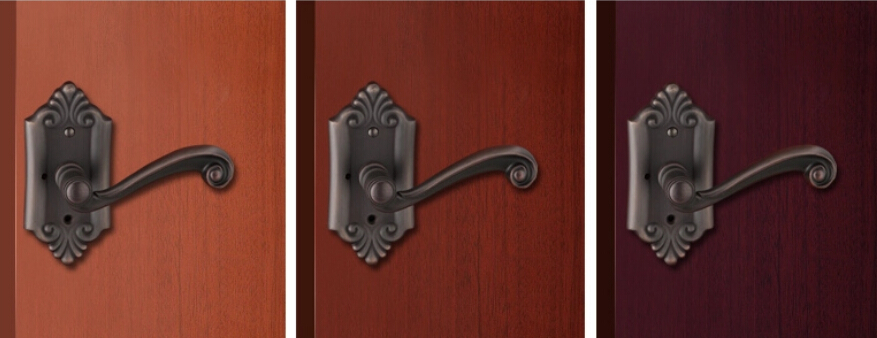 solid brass privacy lever and knobs