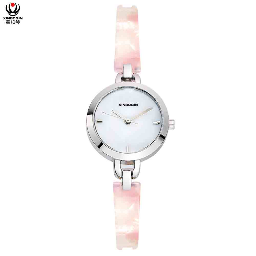 XINBOQIN Supplier Customised OEM Brand Cheap Fancy Business Quartz Acetate Watch