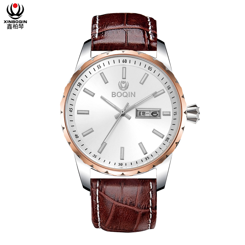 XINBOQIN Factory Men OEM Latest Design Casual Luxury Quartz Stainless Steel Watch
