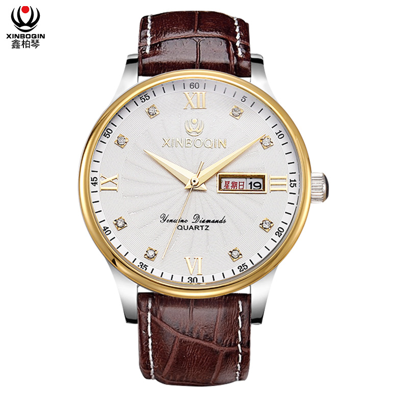 XINBOQIN Supplier New Style Men Fashion Popular Designer Quartz Men Watch