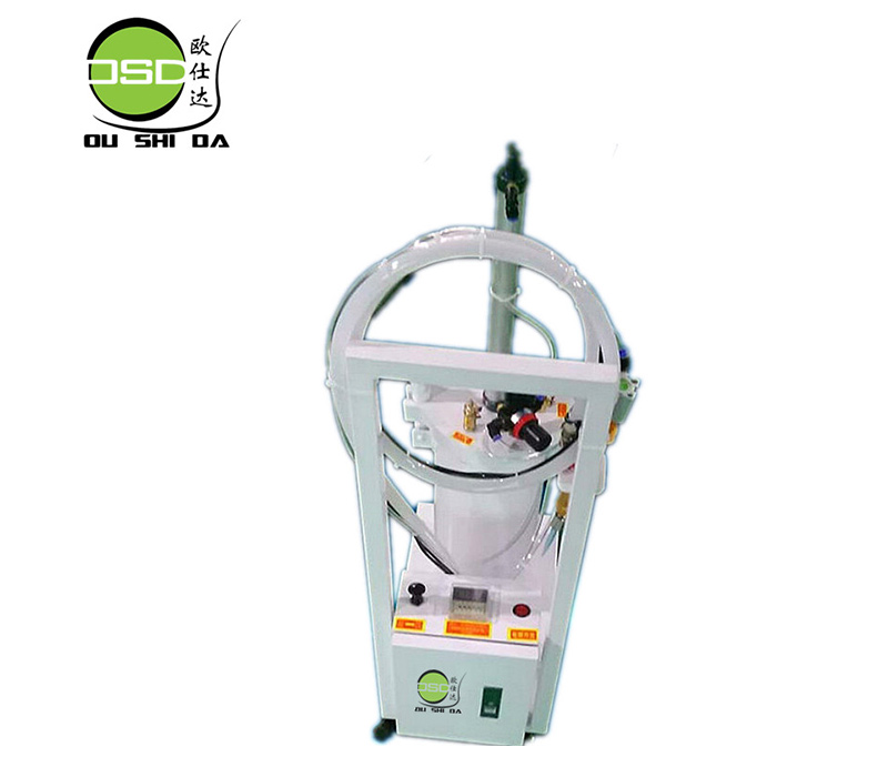 Precision automatic floor dispensing machine