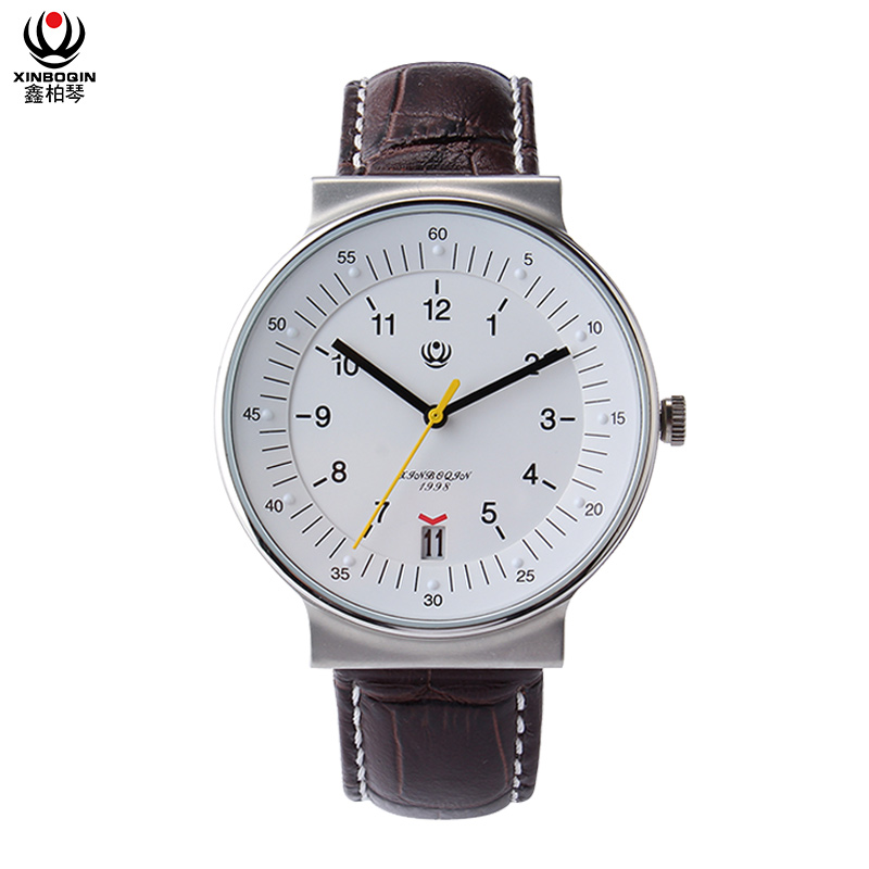 XINBOQIN Factory Custom Brand Top Fashion Young People Quartz Stainless Steel Men's Watch