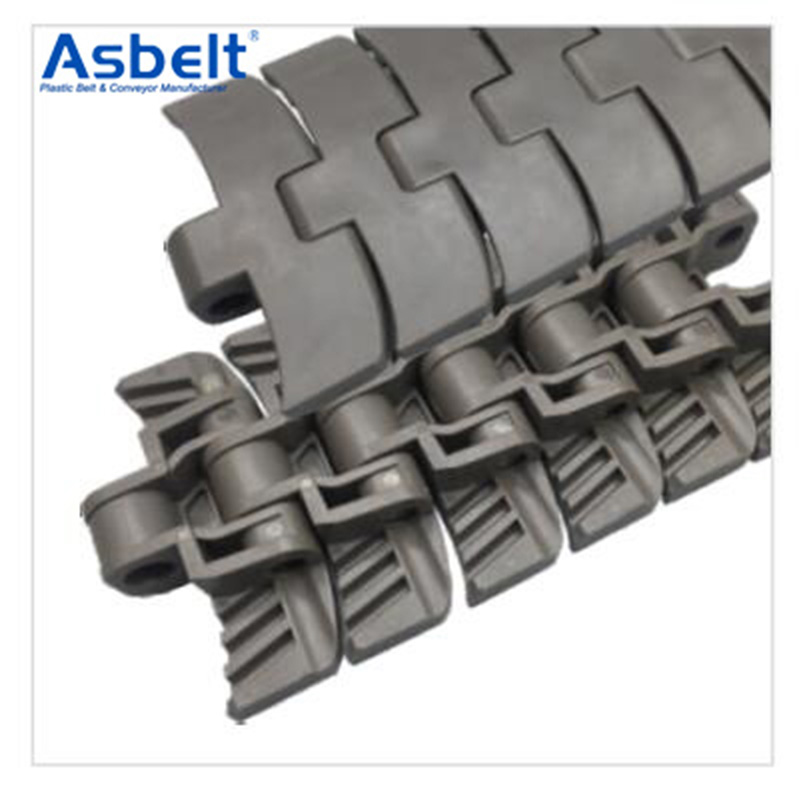 Ast2260 Straight Running Belt,Flat Top Belt,Plastic Flat Top Belt ,Plastic Flat Top Belt Rubber Top
