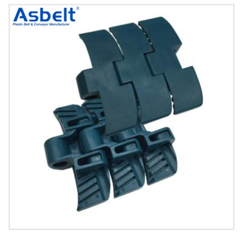 Ast1060 Magnetic Side Flexing,Plastic Flat Top Belt, ,Plastic Flat Top Belt Rubber Top