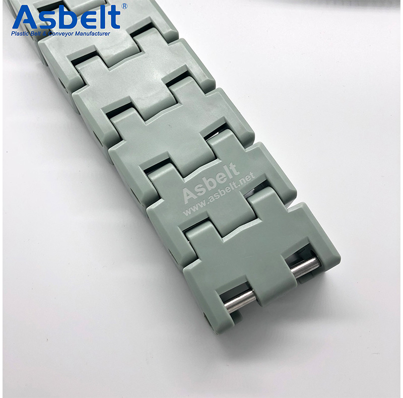 Ast8827 Tobacco Belt,Flush Grid Belt ,Plastic Flat Top Belt
