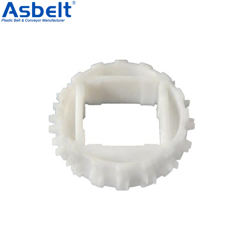 Sprocket for Series 1100,Vacuum Perforated Top Belt,Flush Grid Belt