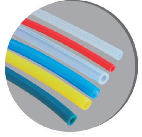 Pure silicone rubber tube