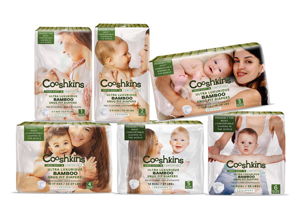 Eco Friendly Baby Diapers Bamboo based baby diapers