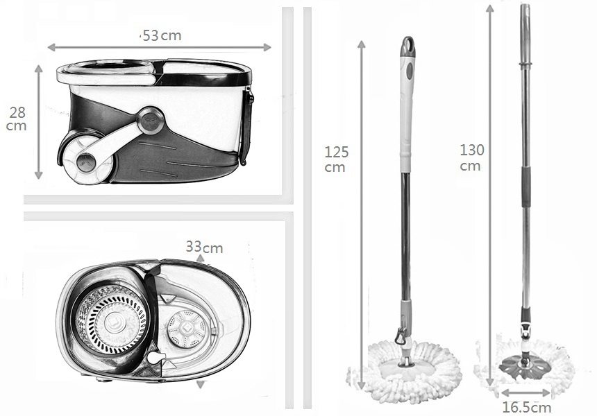 KXY-PC Deluxe 360 spin mop with wheels,Best Selling 360 Spin Mop With Wheels,Deluxe 360 Spin Mop With Wheels,360 Spin Mop With Foot Pedal Supplier