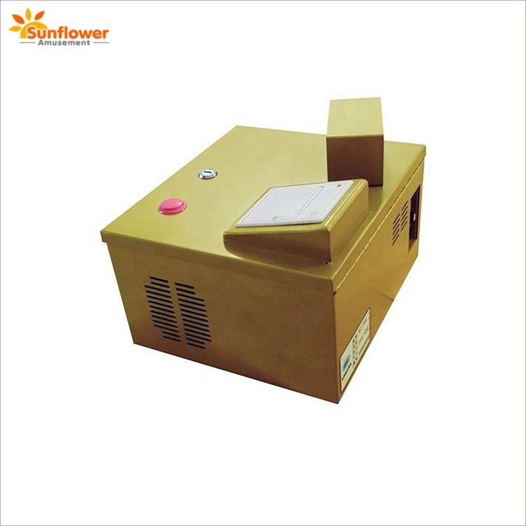 Arcade game ticket counter,ticket eater with automatic gift box