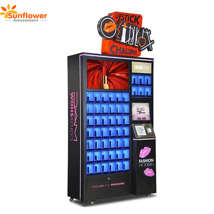 2019 New Vending Machines Coin Operated Lipstick Cosmetic Prize Vending Machine