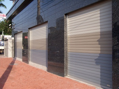 Garage Rolling Door - Aluminum Alloy