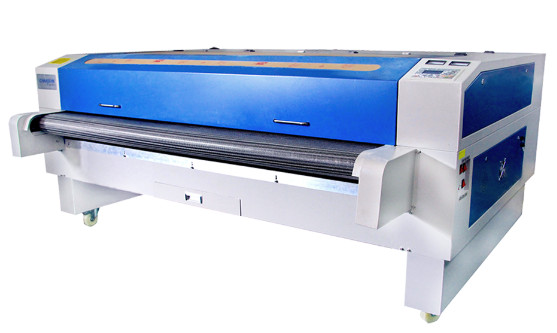 CW-1610F Double head automatic feeding laser cutting machine