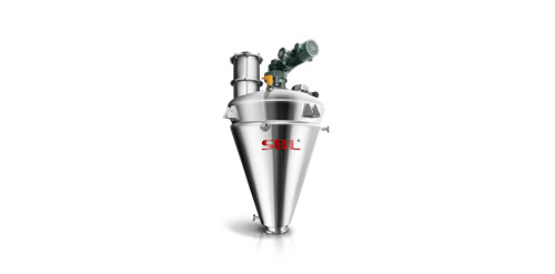 industrial conical screw mixer vertical shaft mixer low shear cone blender S&L ® manufacture