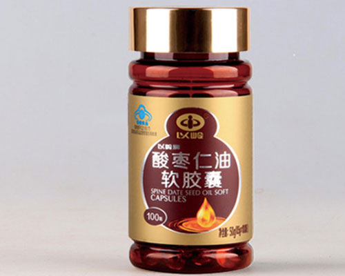 Jujube Seed Oil Supplement Soft Capsule