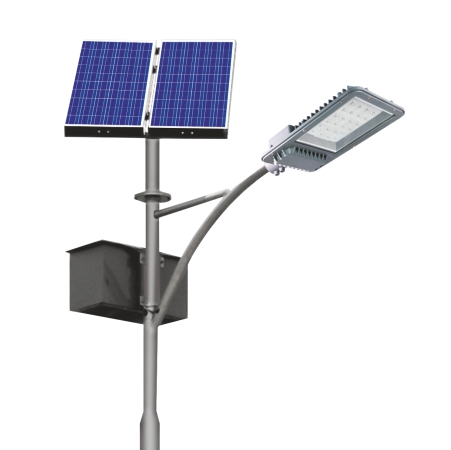 Separate Solar Street Light with High Efficiency Mono Crystalline Silicon