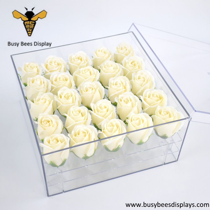 Flower Holder and Rose Storage Case