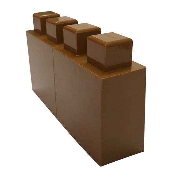 New arrival construction bricks plastic building blocks hard material interlocking larger recyclable blocks