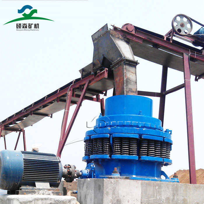 spring cone crusher working principle