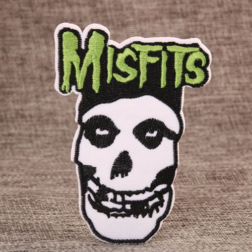 Misfits Embroidered Patches