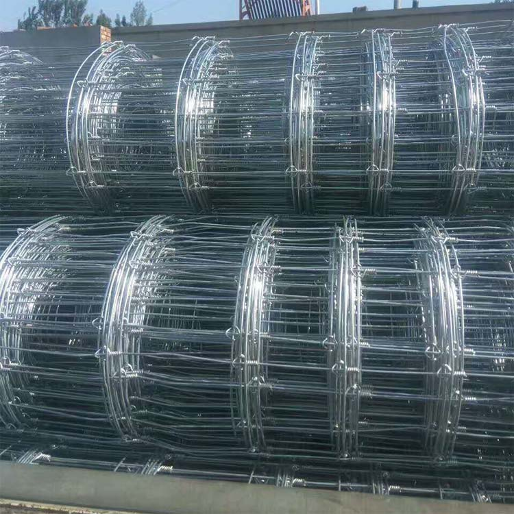 heavy galvanized 2.5mm thickness sheep netting field fence for animals