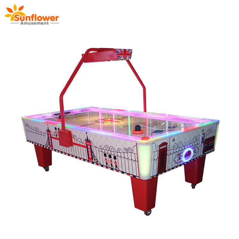 Sunflower redemption game machine air hockey table game in coin operated