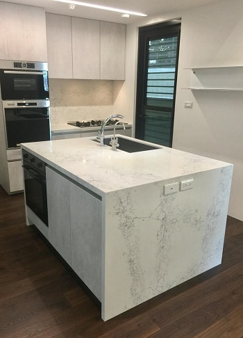 warm color series Quartz stone