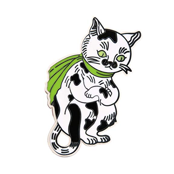 GS-JJ Cute Cat  Lapel Pin