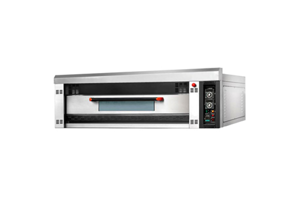 one layer two trays comericial electric deck oven