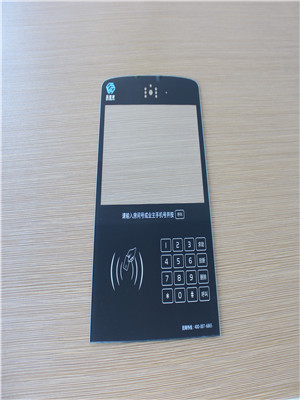 access security control panel tempered glass