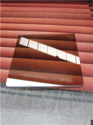 New design type   Solar Control colored glass