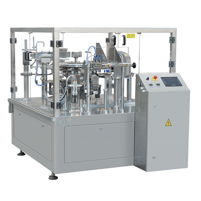 Preformed Bag Waterproof Packaging Machine,Pre-made Pouch Fill Seal Machine
