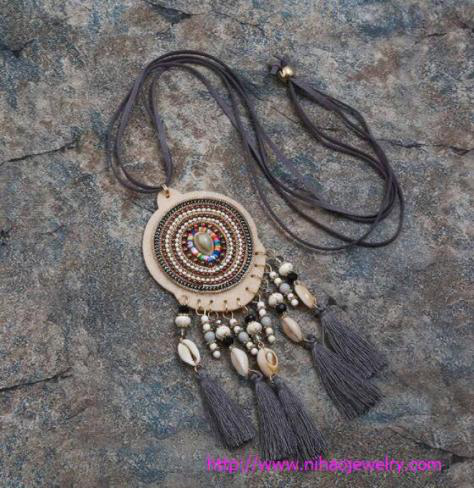 Fashion Jewelry with symbolic pendants and talismans