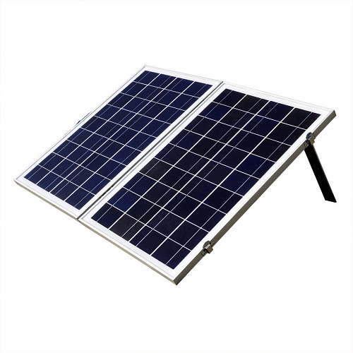 ECO-WORTHY 50W 12V Foldable Polycrystalline Solar Panel Kit