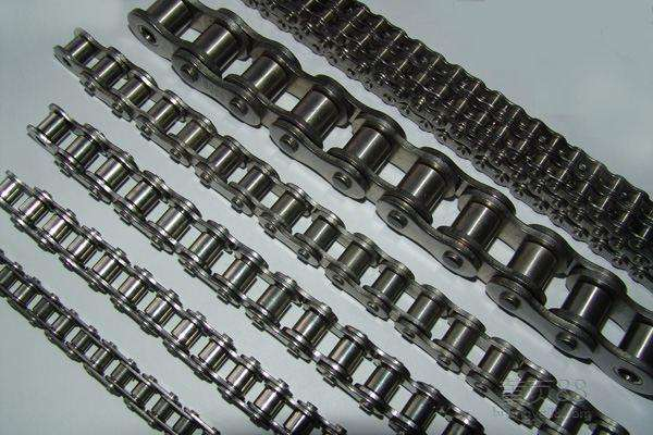Carbon steel short pitch heavy duty roller chains