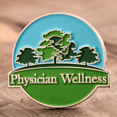 Physician Wellness Custom Pins
