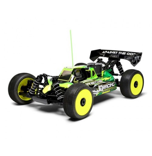 JQRacing THE Car 1/8 Off-Road Nitro Buggy Kit (Black Edition)