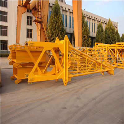 RCT7030-12 hammerhead tower crane with Slice climbing cage