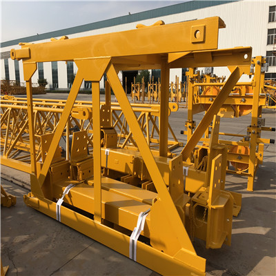 RCT7032-16 hammerhead tower crane with Slice climbing cage