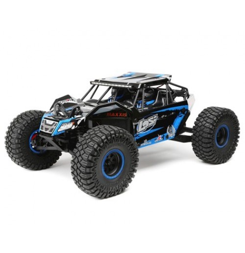Losi Rock Rey 1/10 4WD RTR Electric Rock Racer (Blue)