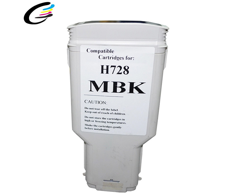 728 Compatible Ink Cartridge With Chip For T730 T830 Series Printer