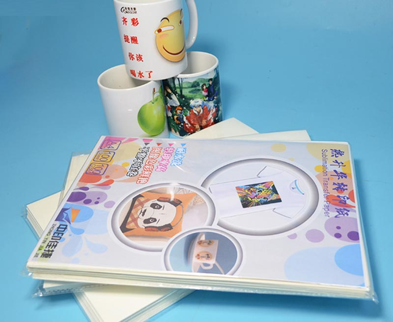 75% Cotton T Shirt Inkjet Sublimation Transfer Paper A4