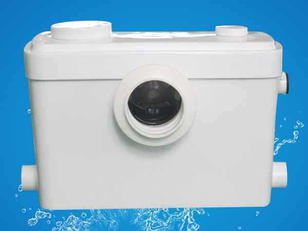 Electric 600W upflow toilet macerator pump 220V-240V for bathroom sewage lifting