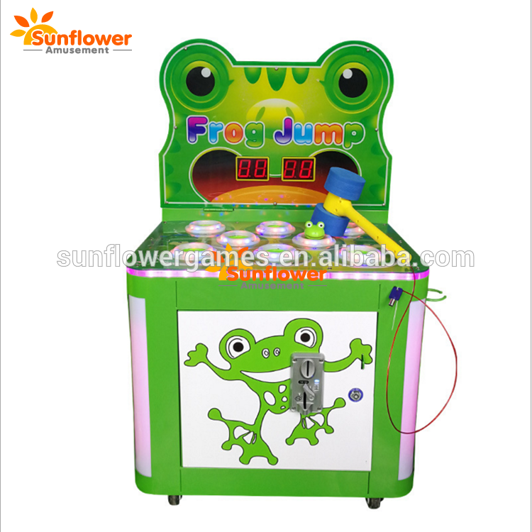 Hot Sale Hit Frog Hammer Game Machine Tickets Game Machine Kids Arcade Game