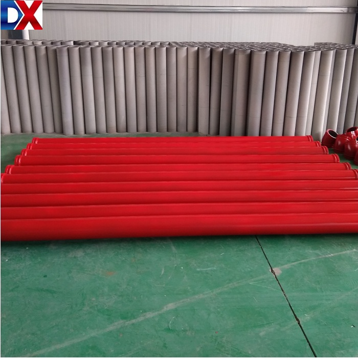 ST52 seamless concrete pump delivery pipe