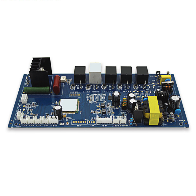 XWS CONTROL DOUBLE SIDE FR4 PCB CIRCUIT BOARDS SMT MANUFACTURE AND ASSEMBLY