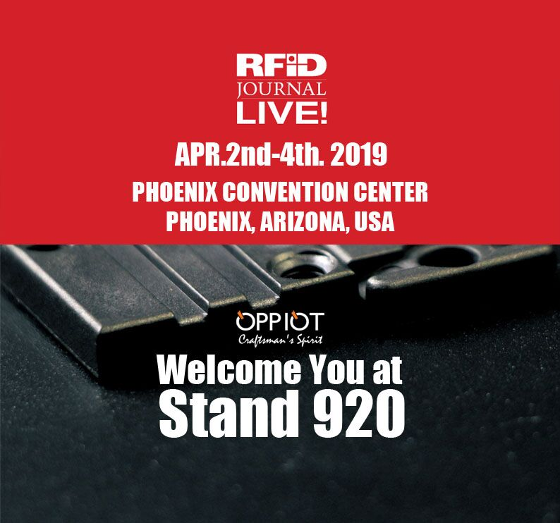 OPPIOT WILL ATTEND RFID Journal LIVE 2019