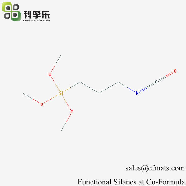 CFS-006, 3-Isocyanatopropyltrimethoxysilane, Cas No. 15396-00-6